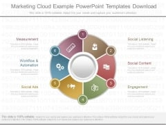 Marketing Cloud Example Powerpoint Templates Download