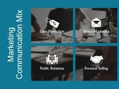 Marketing Communication Mix Ppt PowerPoint Presentation Tips
