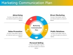 Marketing Communication Plan Ppt PowerPoint Presentation Ideas Diagrams