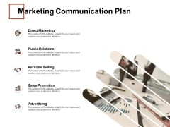 Marketing Communication Plan Ppt PowerPoint Presentation Layouts Pictures