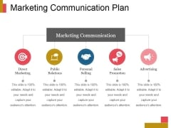 Marketing Communication Plan Ppt PowerPoint Presentation Show