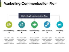 Marketing Communication Plan Ppt PowerPoint Presentation Styles Gridlines