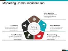 Marketing Communication Plan Ppt PowerPoint Presentation Styles Shapes