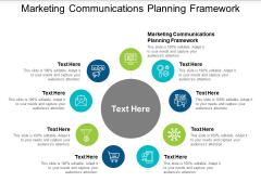 Marketing Communications Planning Framework Ppt PowerPoint Presentation Layouts Smartart Cpb