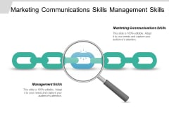 Marketing Communications Skills Management Skills Ppt PowerPoint Presentation Icon Slide Download