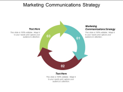 Marketing Communications Strategy Ppt PowerPoint Presentation File Show Cpb