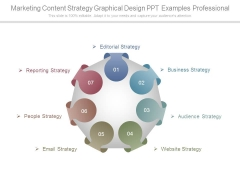 Marketing Content Strategy Graphical Design Ppt Examples Professional