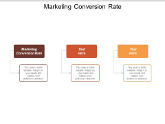 Marketing Conversion Rate Ppt PowerPoint Presentation Icon Styles Cpb