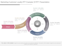 Marketing Customer Loyalty Ppt Example Of Ppt Presentation