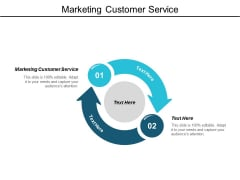 Marketing Customer Service Ppt Powerpoint Presentation Ideas Information Cpb