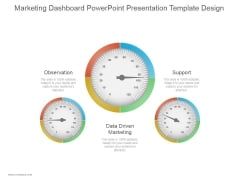 Marketing Dashboard Ppt PowerPoint Presentation Slides