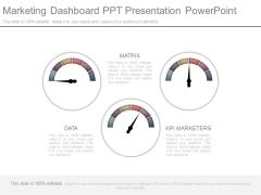 Marketing Dashboard Ppt Presentation Powerpoint
