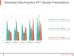 Marketing Data Analytics Ppt Sample Presentations
