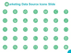 Marketing Data Source Icons Slide Ppt PowerPoint Presentation Outline Clipart