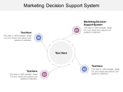 Marketing Decision Support System Ppt PowerPoint Presentation Icon Template Cpb