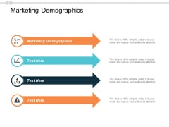 Marketing Demographics Ppt PowerPoint Presentation Infographic Template Designs Cpb