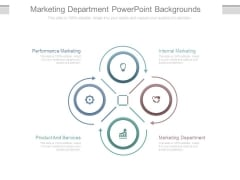 Marketing Department Powerpoint Backgrounds
