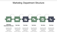 Marketing Department Structure Ppt PowerPoint Presentation Styles Background Cpb