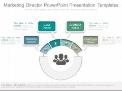 Marketing Director Powerpoint Presentation Templates
