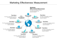 Marketing Effectiveness Measurement Ppt PowerPoint Presentation Infographic Template Rules Cpb