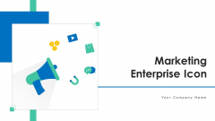 Marketing Enterprise Icon Initiatives Target Ppt PowerPoint Presentation Complete Deck With Slides