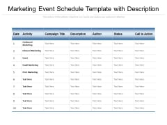 Event Schedule Slide Geeks
