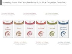 Marketing Focus Plan Template Powerpoint Slide Templates Download