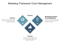 Marketing Framework Churn Management Ppt PowerPoint Presentation Outline Portfolio