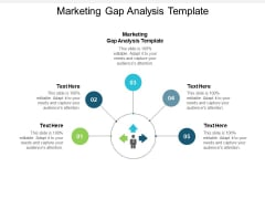 Marketing Gap Analysis Template Ppt PowerPoint Presentation Styles Visuals Cpb