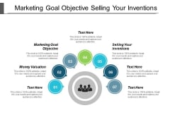 Marketing Goal Objective Selling Your Inventions Money Valuation Ppt PowerPoint Presentation Gallery Structure