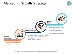 Marketing Growth Strategy Ppt PowerPoint Presentation Gallery Clipart