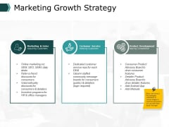 Marketing Growth Strategy Ppt PowerPoint Presentation Portfolio Icon