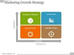Marketing Growth Strategy Template 1 Ppt PowerPoint Presentation Professional Display
