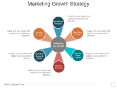 Marketing Growth Strategy Template 2 Ppt PowerPoint Presentation Gallery Inspiration