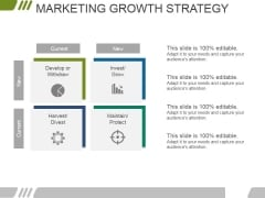 Marketing Growth Strategy Template 2 Ppt PowerPoint Presentation Icon Outline