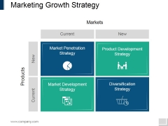 Marketing Growth Strategy Template 2 Ppt PowerPoint Presentation Show Elements
