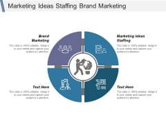 Marketing Ideas Staffing Brand Marketing Ppt PowerPoint Presentation Portfolio Guide