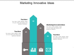 Marketing Innovative Ideas Ppt PowerPoint Presentation Ideas Visual Aids Cpb