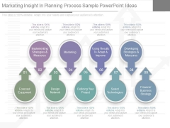 Marketing Insight In Planning Process Sample Powerpoint Ideas