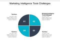 Marketing Intelligence Tools Challenges Ppt PowerPoint Presentation Icon Brochure Cpb