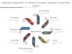 Marketing Interaction For Brand Promotion Example Powerpoint Layout