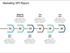 Marketing KPI Report Ppt PowerPoint Presentation Styles Ideas Cpb