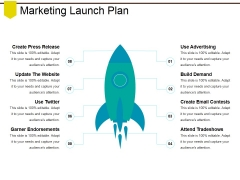 Marketing Launch Plan Ppt PowerPoint Presentation Gallery Themes