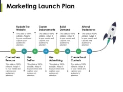 Marketing Launch Plan Ppt PowerPoint Presentation Icon Design Inspiration