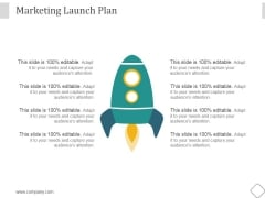 Marketing Launch Plan Ppt PowerPoint Presentation Infographics