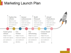 Marketing Launch Plan Ppt PowerPoint Presentation Styles Show