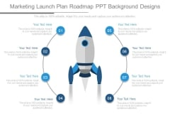 Marketing Launch Plan Roadmap Ppt Background Designs