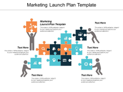 Marketing Launch Plan Template Ppt PowerPoint Presentation Icon Topics Cpb
