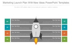 Marketing Launch Plan With New Ideas Powerpoint Templates