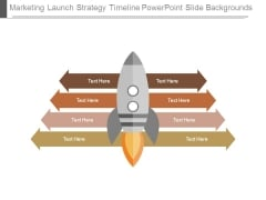 Marketing Launch Strategy Timeline Powerpoint Slide Backgrounds